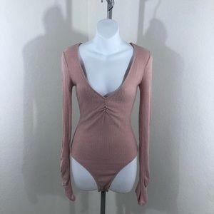 Intimately FP Mauve Body Suit